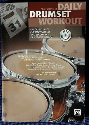 Daily Drumset Workout - Claus Hessler - 9783933136855