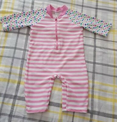 Baby Girl Toddler Swimsuit Swimming Costume UV Suit Beach Wear 12-18 Months
