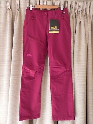 JACK WOLFSKIN, (M) Ladies Hiking, Trekking, Walking Outdoor Pants Fuchsia NWT