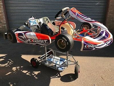 2017 OTK EXPRIT TONY KART 401s CHASSIS WITH ROTAX MAX SENIOR ENGINE - ROTAX -
