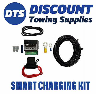 Porsche Towbar Towing Self Switching Relay kit For Charging Systems & Fridge
