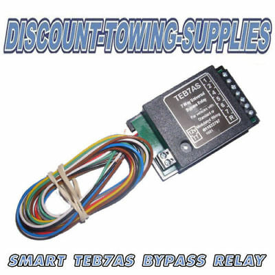 Motorhome Towbar Towing Smart 7 Way Bypass Relay For Canbus & Multiplex Wiring