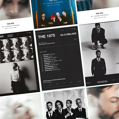 THE 1975 A Brief Inquiry into Online Relationships PHOTO Print POSTER Band Tour