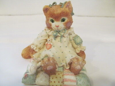 Enesco Calico Kitten You'll Always Be Close to My Heart  Never Displayed & NIB