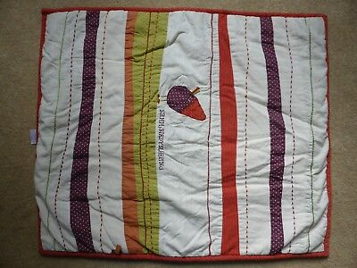 Mamas and Papas Hodge Podge Small Quilt Comforter Blanket.