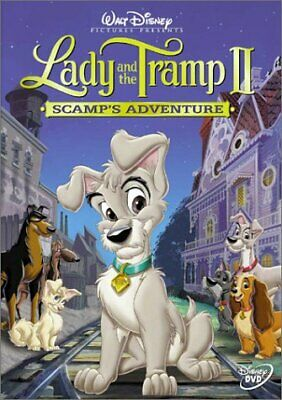 Lady and the Tramp II: Scamps Adventure Disney DVD [Used]