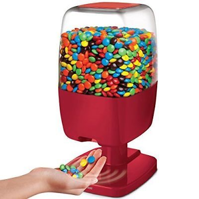 SHARPER IMAGE Motion Activated Candy Dispenser For Gumballs, Nuts, Snacks, Touch