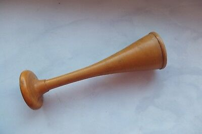 19 c. ANTIQUE MEDICAL WOODEN MONAURAL STETHOSCOPE