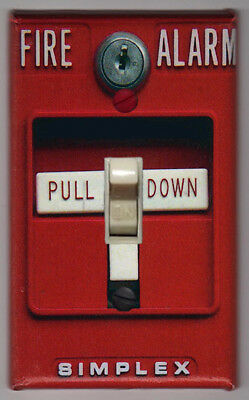 Fire Alarm Light Switch Cover Plate - FREE SHIPPING