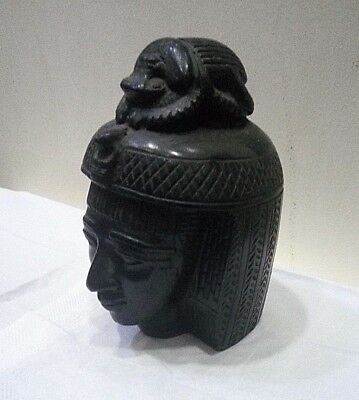 RARE ANCIENT EGYPTIAN ANTIQUE NEFERTARI With Scarab Stone 1658-1630 BC