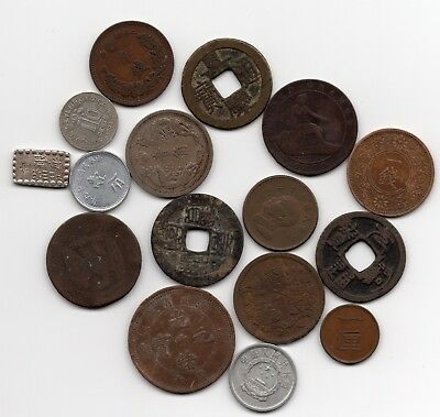 China, Japan and other Coins