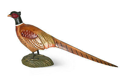 Hand Carved Pheasant Statue Rustic Cabin Decor By Atmosphere Leisure