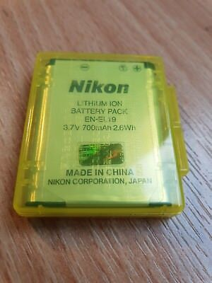 NIKON S7000 Coolpix Accessory Kit EN-EL19 battery and case Genuine /Original