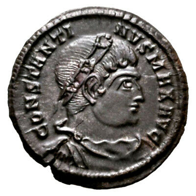CONSTANTINE THE GREAT (330-335 AD) Scarce Follis, Trier #RB 434