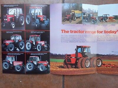 Case  International Tractor Brochure