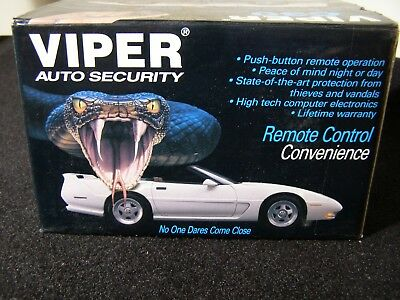 Viper C30 Car/truck/auto Security System Alarm/remote/glass Nib