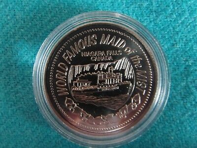1987 Maid of the Mist Trade Dollar - Nickel-Bonded Steel