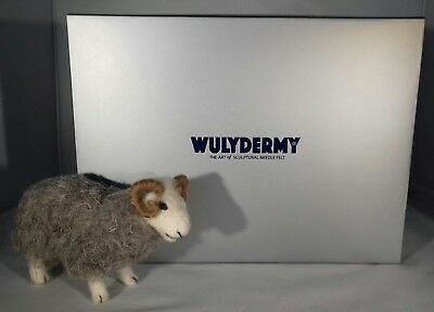 Gift Boxed Herdwick British Rare Breeds sheep  needle felt kit British Wool