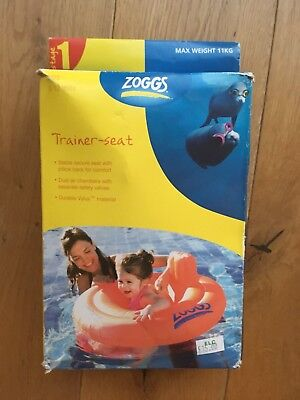 ZOGGS BABY SWIMMING TRAINER TRAINING SEAT: 3-12 months