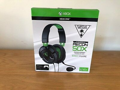 * Turtle Beach Recon 50X Gaming Headset Xbox One/PS4/PC * Brand New & Sealed *