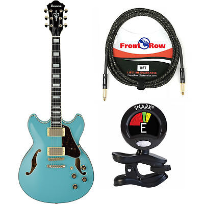 Ibanez AS73GMTB Artcore Series Semi Hollow Body Electric Guitar w/Tuner & Cable