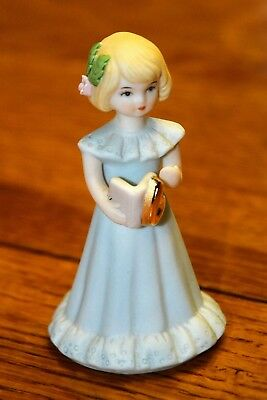 "Enesco ""GROWING UP BIRTHDAY GIRLS""  Age 6 1981, no box"