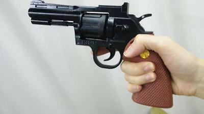 Toy Revolver costume police prop cosplay detective python wheel gun Six shooter
