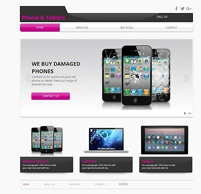Tablets, Laptops & Phones Business For Sale, Top Brands | £500+ profit per week