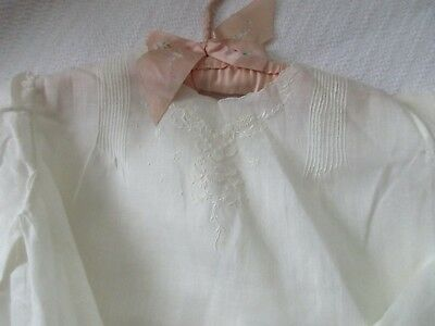Vintage Baby Dress - Off White - Cotton