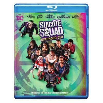 Suicide Squad (Blu-ray, DVD, Digital) Extended Cut NEW
