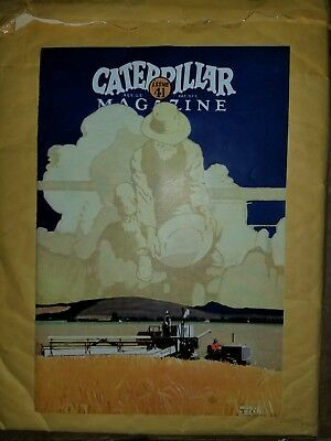 Original Vintage 1920's Caterpillar Magazine Issue 41 Equipment about 20 Pages