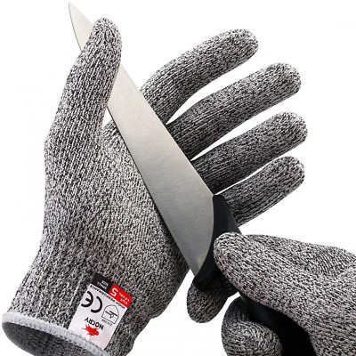 Cut Resistant Food Grade Kitchen Gloves,High Performance Level 5 Protection NEW