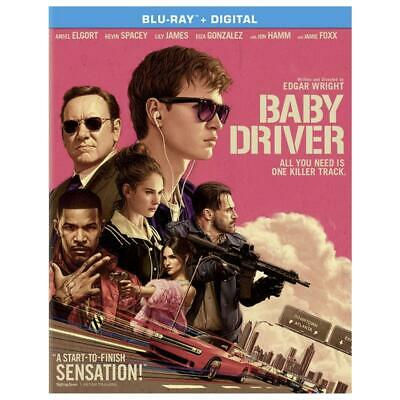 Baby Driver (Blu-ray Disc, 2017, Includes Digital Copy) NEW
