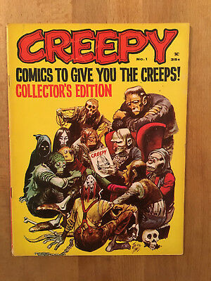 CREEPY US numéro 1 - Warren - 1964 - BE