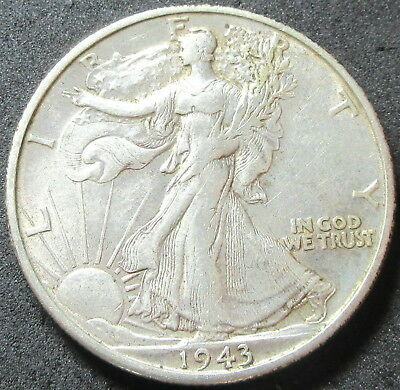 1943-S Walking Liberty Half Dollar Coin