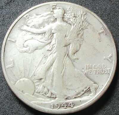1944-D Walking Liberty Half Dollar Coin