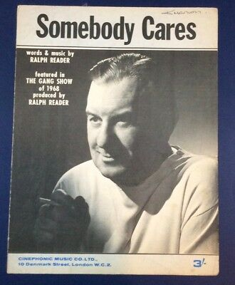 Somebody Cares (Ralph Reader/Gang Show 1968) sheet music