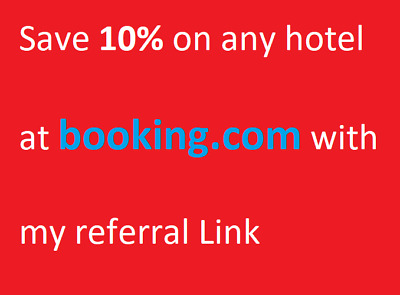 10% OFF your Booking.com Hotel Trip Cashback Get Money back while travelling New