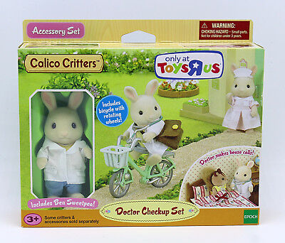 Calico Critters / Sylvanian Families Doctor Check Up Set TRU Exclusive