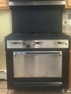 Garland Commercial 6 Burner Stove- Used
