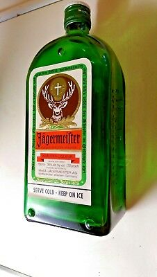 Jagermeister Bottle Ashtray - FREE Shipping! Official Promo Item - New Condition