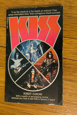 Kiss Vintage Book Robert Duncan