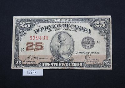 West Point Coins ~ $0.25 25 Cent Note 'Dominion of Canada' 1900
