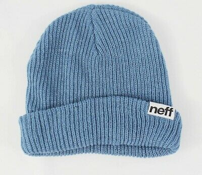 38df18f14ea NEW WITHOUT TAGS NEFF Fold Beanie Grey Blue -  12.57