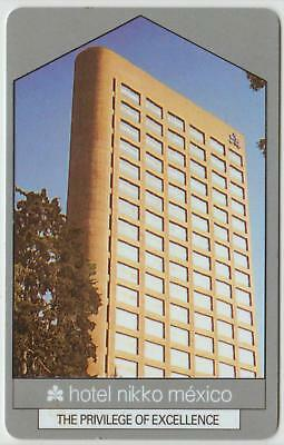 HOTEL NIKKO MEXICO*The privilege of excellence*Hotel key card Fast Ship #118