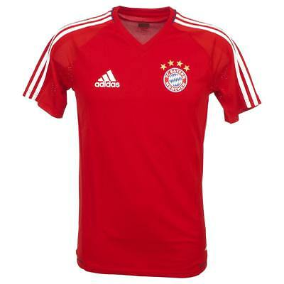 football jersey Adidas Bayern football jersey train h Red 74785 - New
