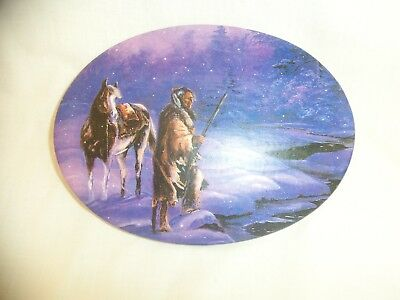 Oval Plaque Indian Theme Bee Kay Creations