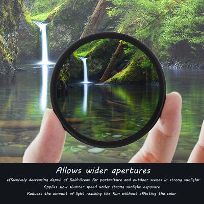 Slim CPL Circular Polarizing Polarizer Filter 52/55/58/62/67/72/77MM JK