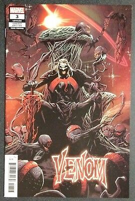 Venom #3 2018 3Rd Print 1St Knull God Of The Symbiotes Cates Stegman