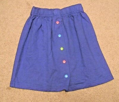 "Vintage girls size XL Gymboree blue skirt 13' long 18-20"" elastic waist"
